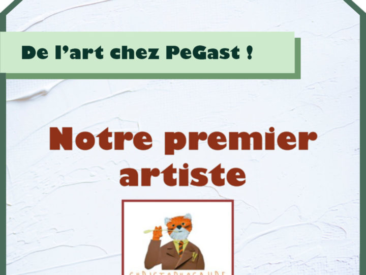 Notre premier artiste : Christophosaure