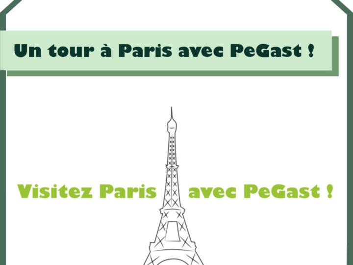 Visitez Paris avec PeGast