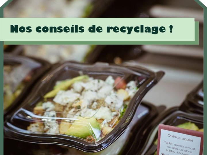 Nos conseils pour le recyclage